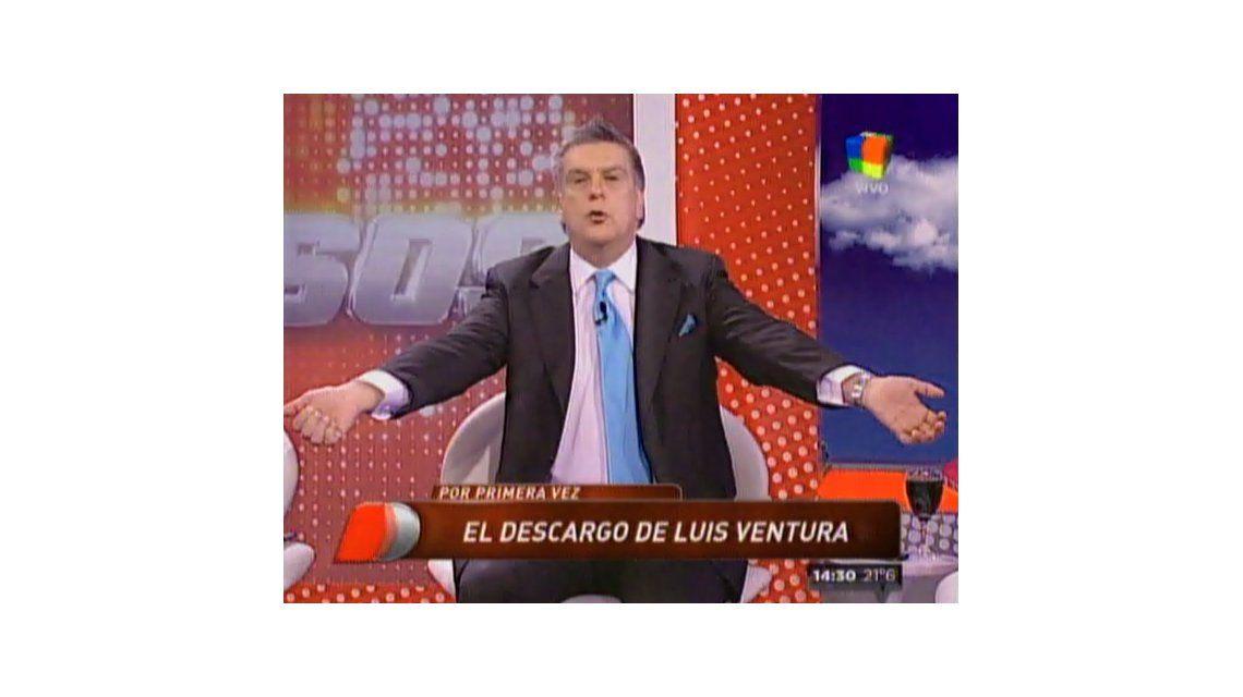 Luis Ventura fue internado de urgencia por un pico de stress en un sanatorio en Quilmes