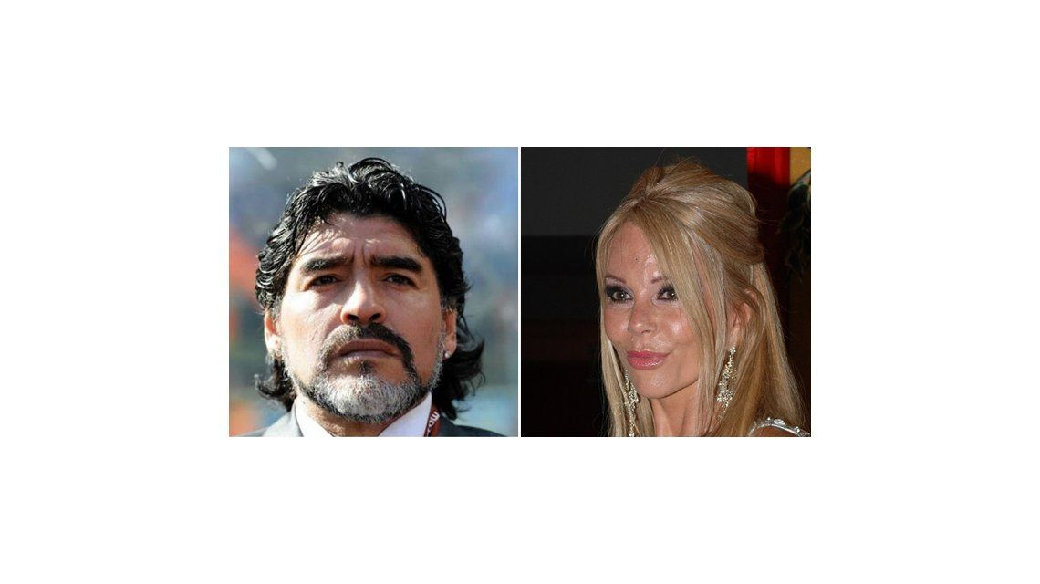 El saludo hot entre Diego Maradona y Graciela Alfano en Viva la Tarde
