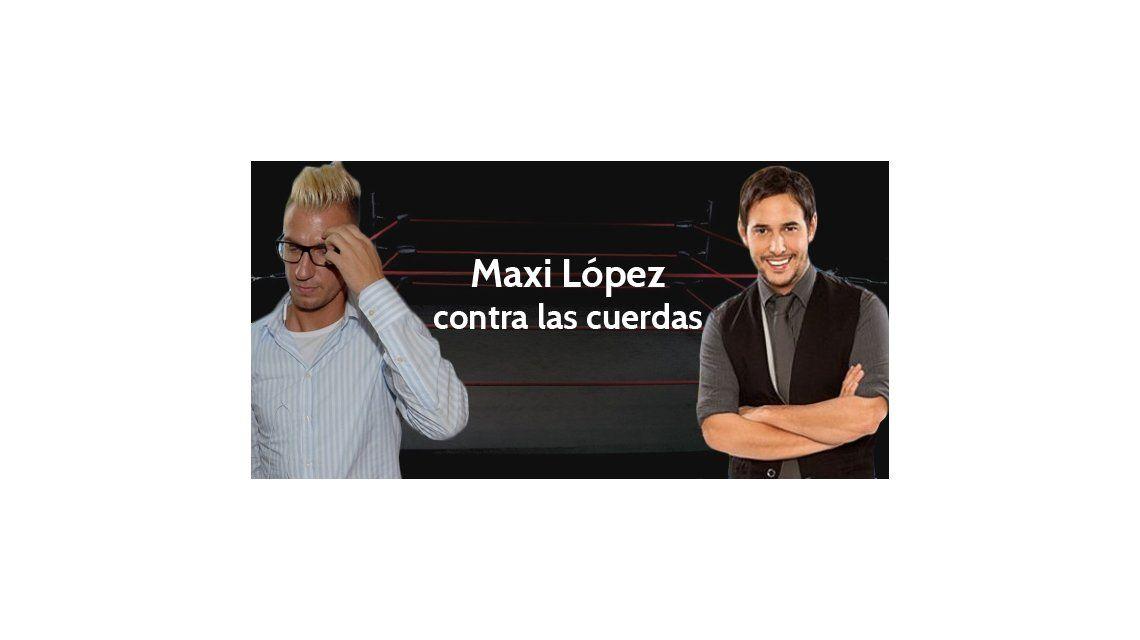 Maxi López contra las cuerdas