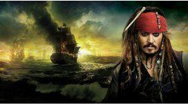Tragedia en Hollywood: Se hundió el barco de Piratas del Caribe