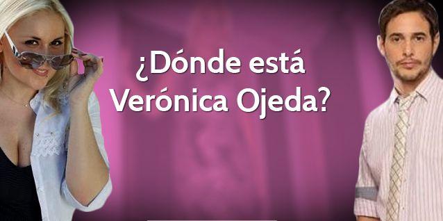 ¿Donde está Verónica Ojeda?