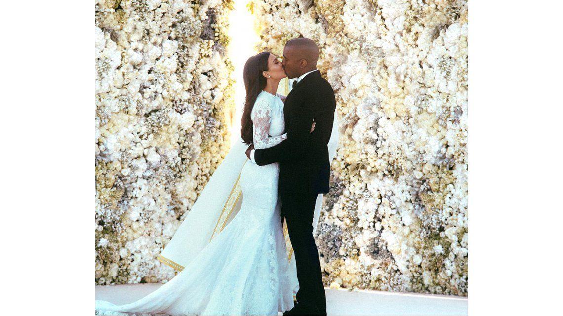 La boda de Kanye West y Kim Kardashian - Vogue 36