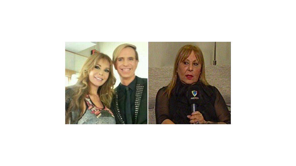 El fuerte cruce de la asesora espiritual de Jorge Ibáñez con Graciela Alfano por el polémico vestido con magia negra