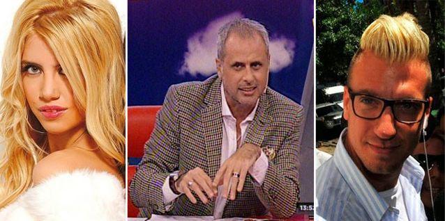La desopilante forma que encontró Jorge Rial para poder nombrar a Wanda Nara y Maxi López en TV