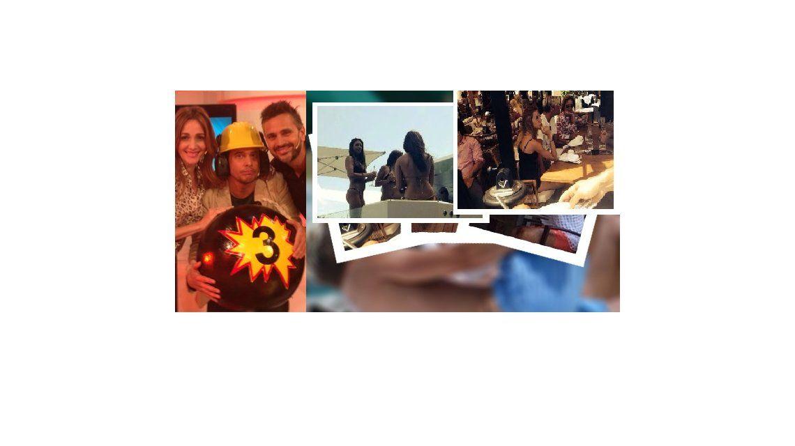 El fin de semana de locura de Maxi López y su novia en un yate en Miami