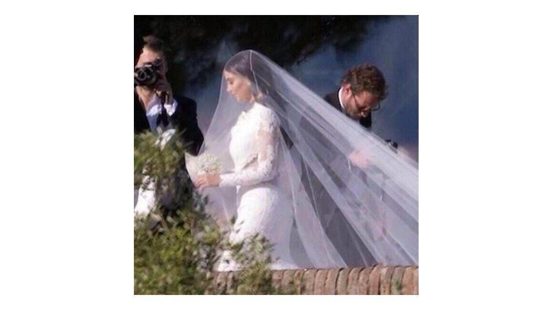 Kim Kardashian y Kanye West se casaron en Italia
