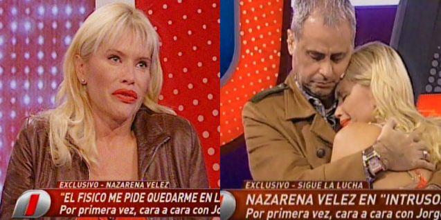Nazarena Vélez se quebró al aire mientras hablaba de Fabián Rodríguez y no pudo continuar la entrevista