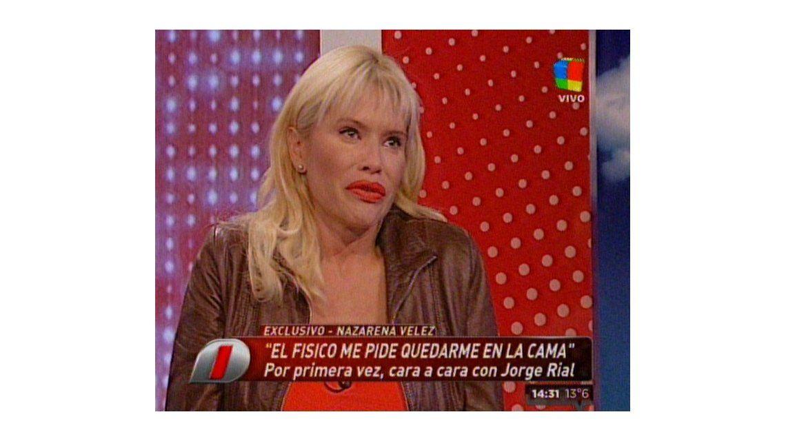Nazarena Vélez: Recién estoy cayendo de que no es una pesadilla