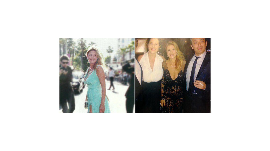 El provocativo look de Flavia Palmiero en la alfombra roja de Cannes
