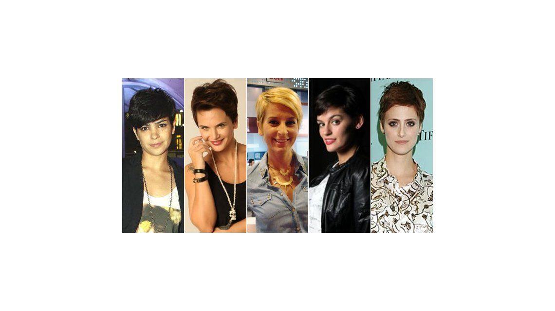 El pelo bien corto, la nueva tendencia de las famosas