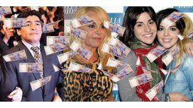 Maradona mandó investigar a Claudia y sus hijas por 10 millones; piden auditoría
