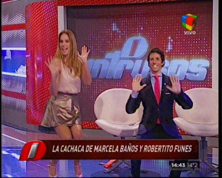 Robertito Funes, furor en Twitter tras bailar La Cachaca en Intrusos