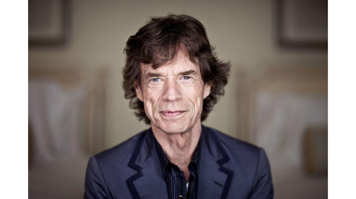 A los 70 años, Mick Jagger fue bisabuelo