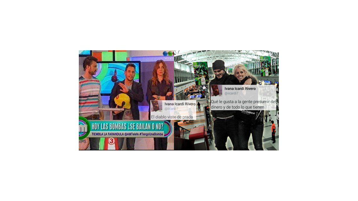 ¿La hermana de Icardi vs Wanda Nara?; Piñón Fijo perdió su disfraz en la frontera