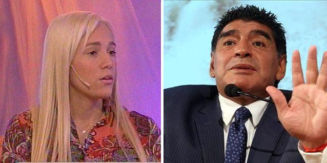 Rocío Oliva sigue criticando a Maradona pero asegura: Estoy enamorada de Diego
