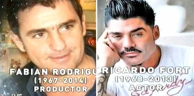 Luego de la polémica, Fabián Rodríguez y Fort estuvieron en el homenaje
