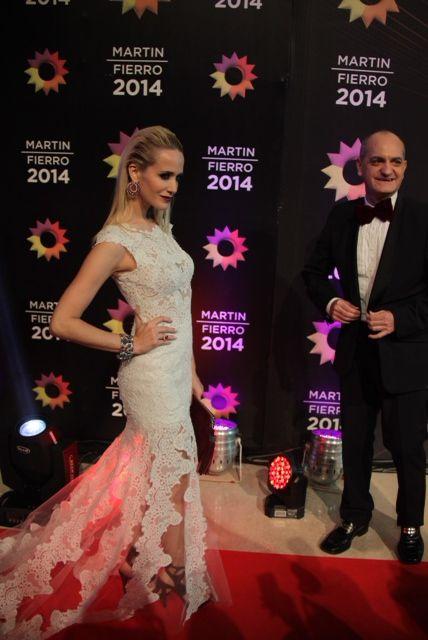 Las mejores vestidas en la noche de los premios Martín Fierro 2014