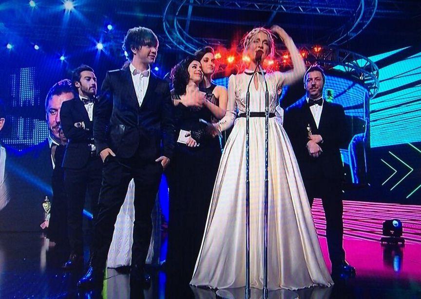 Cris Morena emocionó al público con el recuerdo de Romina Yan al aceptar su premio