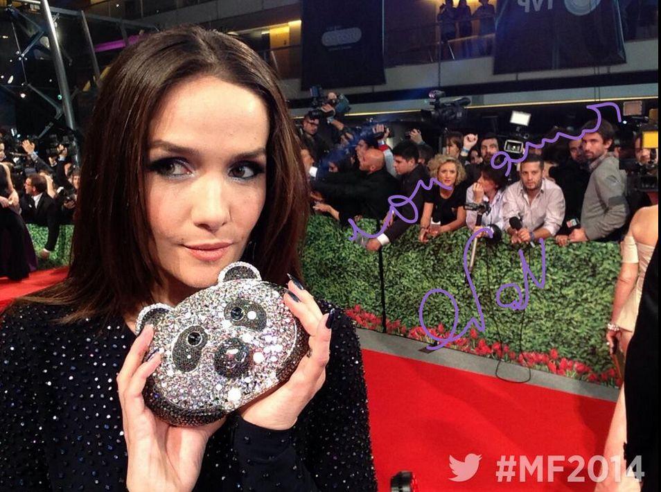 Como en los Oscar, la vedette de la noche del Martín Fierro 2014 son las selfies de los famosos