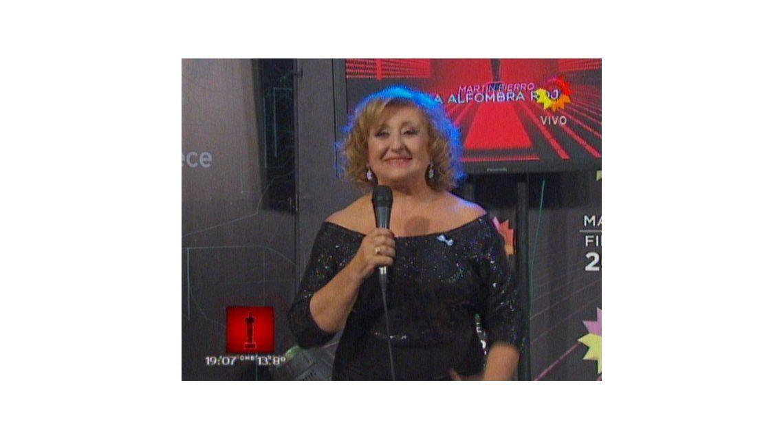 La alfombra roja de los Martín Fierro 2014: el look de los famosos