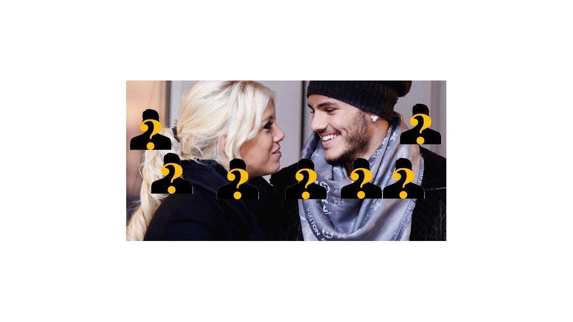 Quiénes son los ocho famosos que irán al casamiento de Wanda Nara y Mauro Icardi