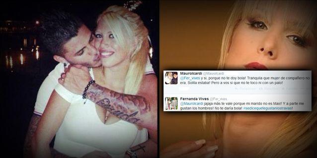 Fernanda Vives vs Wanda e Icardi: Se dice que a Mauro le gustan los travas...