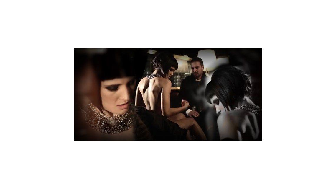 El sensual desnudo de Florencia Torrente, la hija de Araceli González, en un video