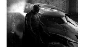 Así es la primera imagen de Ben Affleck con el traje de Batman