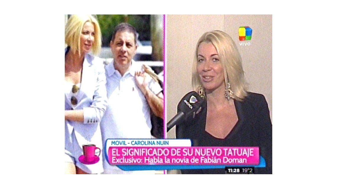 La novia de Doman, Carolina Nuin: Tengo ganas de casarme con Fabián