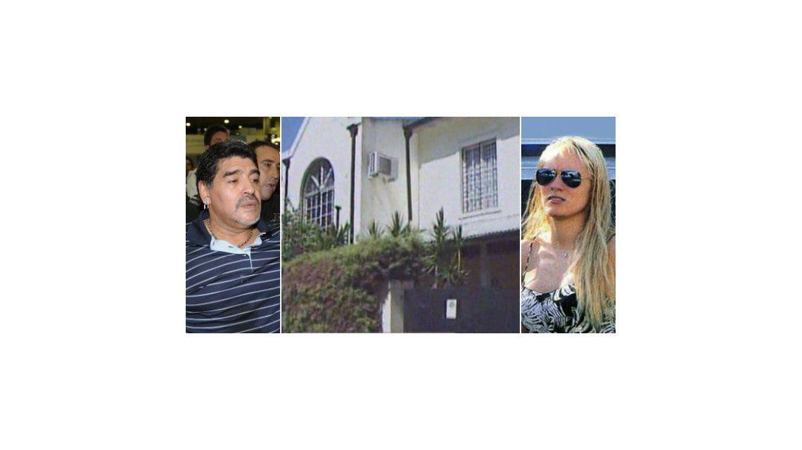 Carta documento a Rocío Oliva: Maradona la quiere desalojar de su casa