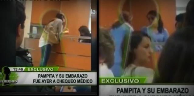 Encontraron a Pampita haciéndose estudios por su embarazo