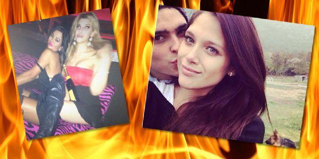 El insólito encuentro hot de Jelinek y Charlotte Caniggia; Barbie Vélez de novia