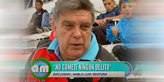 Tras el ADN, habló Luis Ventura: No cometí ningún delito; lo que pasó es vida
