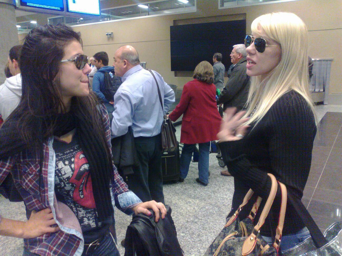 Después de decirse cornuda  y adicta, Mónica Farro y Andrea Rincón se amigaron