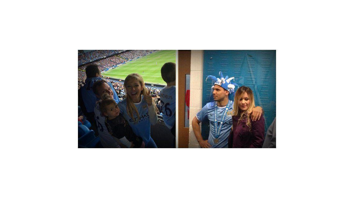 Karina La Princesita y Eva Anderson festejaron el triunfo del Manchester City