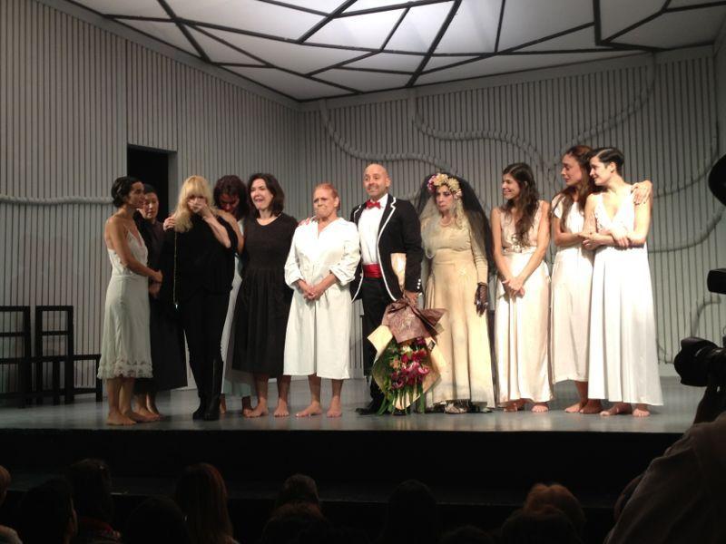 María Rosa Fugazot debutó en La casa de Bernarda Alba y recordó a Norma Pons