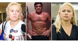 Lejos de Rocío Oliva y Verónica Ojeda, Maradona presenta su nuevo cuerpo