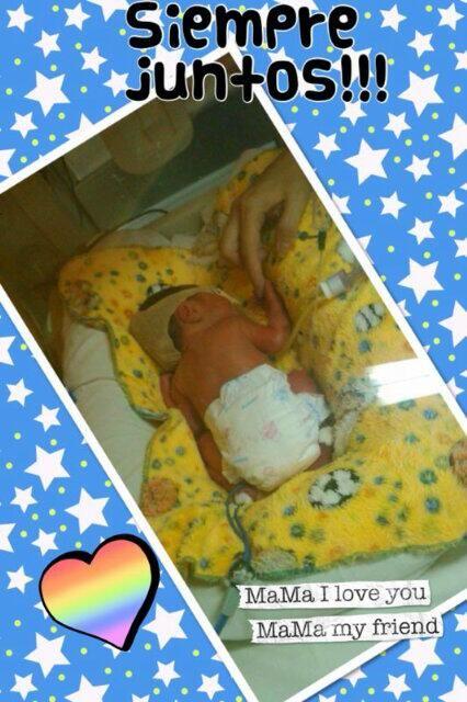Fabiana Liuzzi mostró en Twitter a su hijo recién nacido