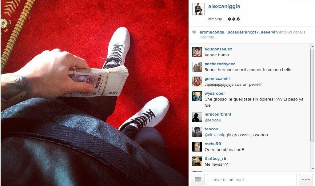 Nueva foto polémica de Alexander y el repudio de los usuarios en la web