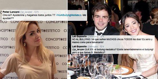 Guerra de ex: Lali Espósito y Peter Lanzani por el bullying mediático a Violetta