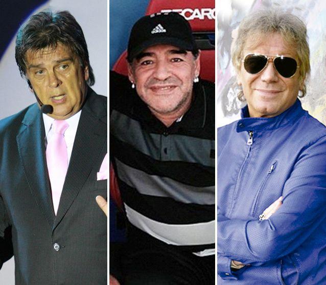 Tras hacerse el amigo de Ventura, Maradona le mandó un champagne a Beto