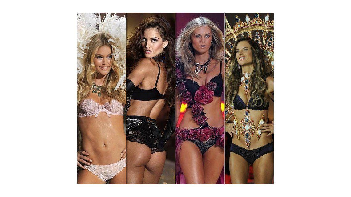 El infartante desfile de los ángeles de Victoria Secret