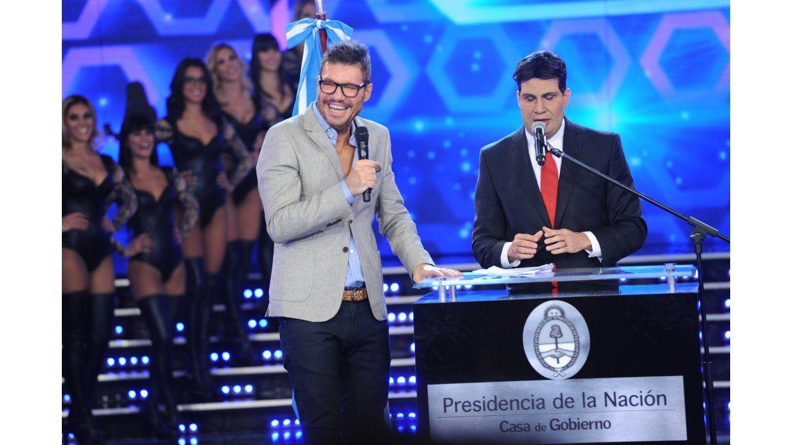 Tinelli y el Capitanich de José María Listorti: fútbol, discurso y humor