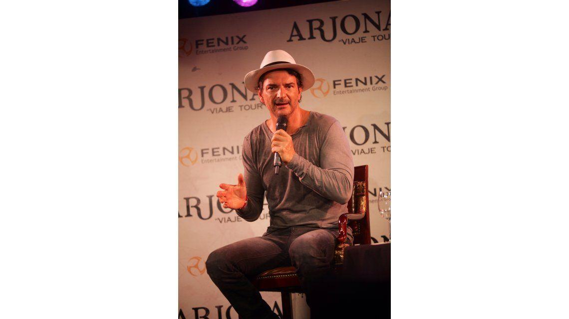 Ya están a la venta las entradas para ver a Ricardo Arjona en Argentina