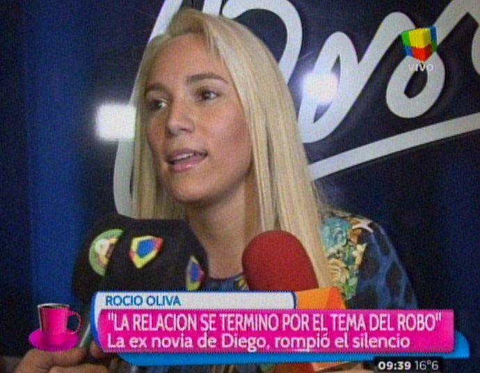 Rocío Oliva: Para que vuelva con Diego tienen que cambiar muchas cosas