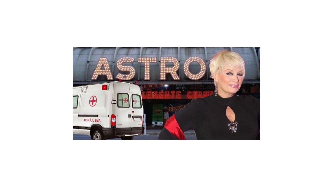 Anoche: Carmen Barbieri, ambulancia y ataque de pánico en el teatro