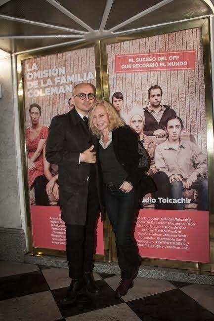 La omisión de la familia Coleman se despide en Buenos Aires