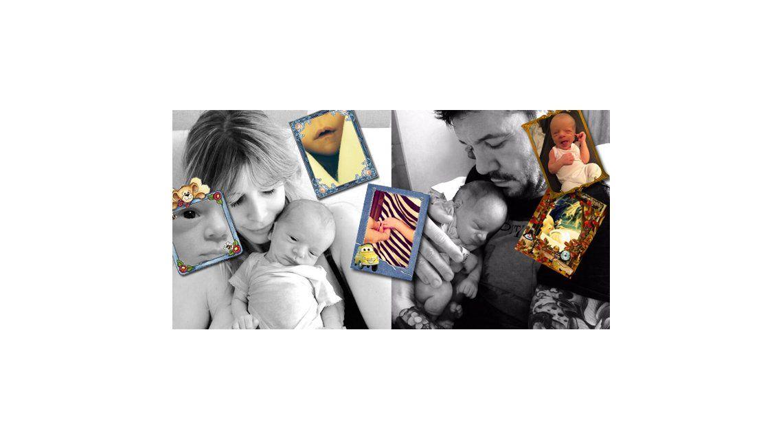 El álbum íntimo y familiar de Lorenzo, el hijo de Marcelo Tinelli y Guillermina Valdes