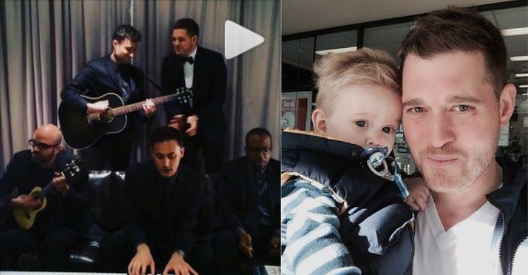 Michael Bublé, un papá baboso y todoterreno