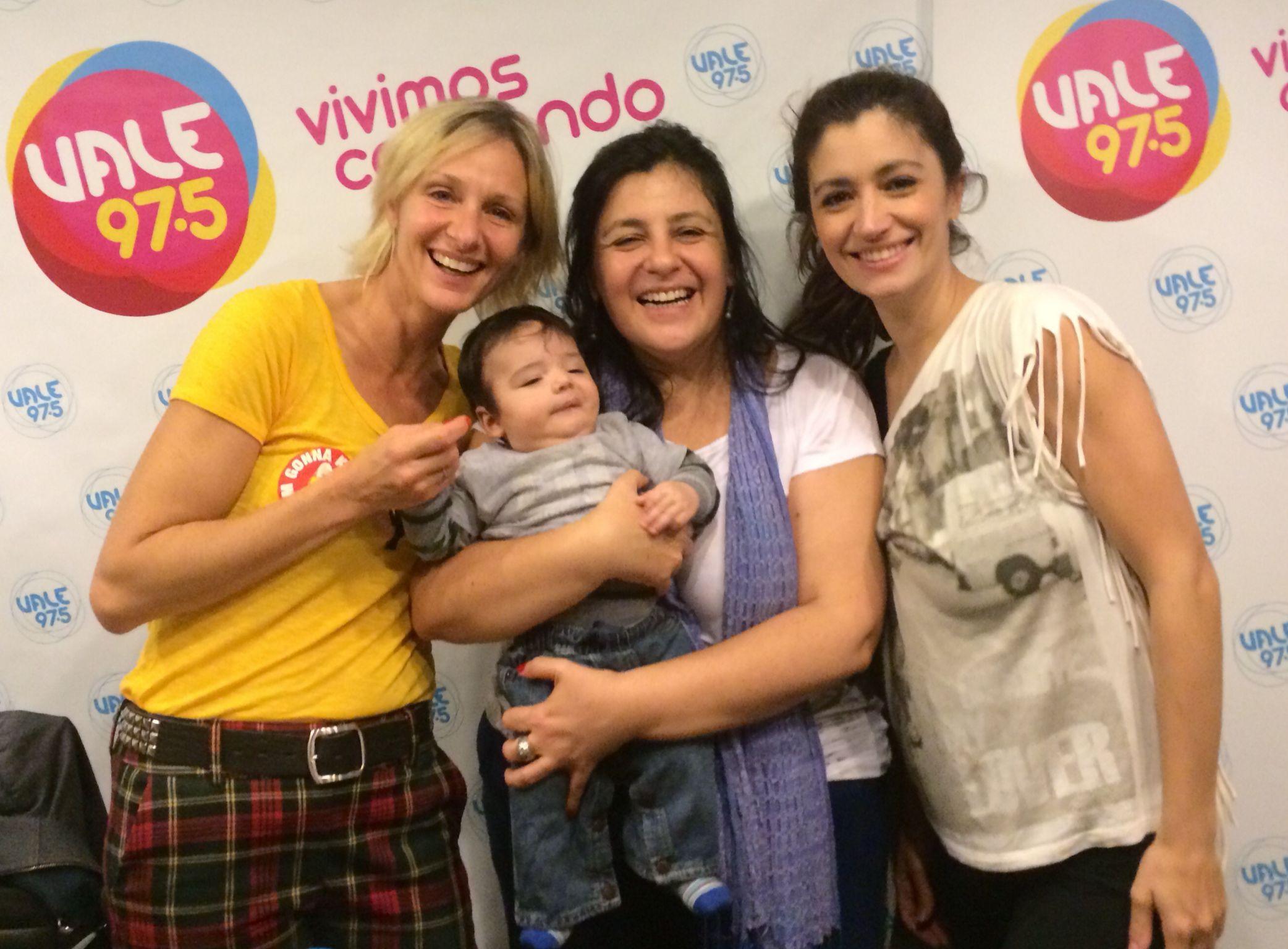 Carla Conte presentó a su hijo en Vale 97.5 y habló de sus ganas de volver a la televisión